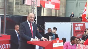 Martin Schulz am Pult