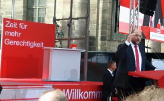 """Martin Schulz mit """"Zeit für mehr Gerechtigkeit"""""""