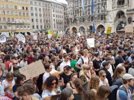 PAG-Demo auf dem Münchner Marienplatz am 10. Mai 2018