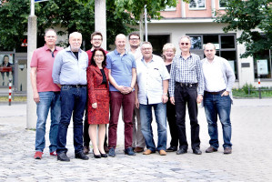 2018-06-24 Jonas Lanig (2.v.l.), bei der JHV der DL21-Bayern