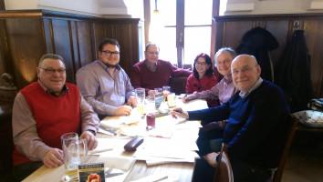 DL21-Bayern-Sprecher und Mitglieder in Landshut