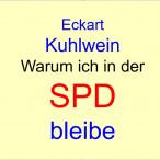 ***Eckart Kuhlwein, Warum ich in der SPD bleibe***