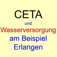Was bedeutet CETA für die Wasserversorgung?