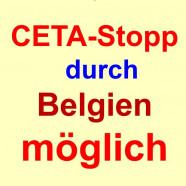 Belgien wird CETA nicht unterzeichnen!
