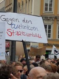 Gegen den autoritären Staatsumbau
