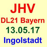 Mitgliederversammlung der DL21 Bayern am 13.05.17 in Ingolstadt