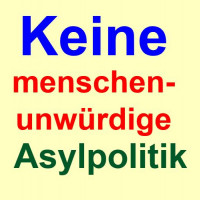 """Für eine menschenwürdige und solidarische Flüchtlingspolitik – gegen die von der CSU betriebene """"Asylwende"""""""