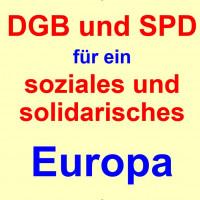 1. Mai 2019 - Tag der Arbeit - für ein soziales und solidarisches Europa!