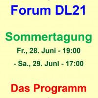 DL21-Sommertagung: Gesellschaft in Bewegung – Was Initiativen bewirken und was sie von der Politik erwarten