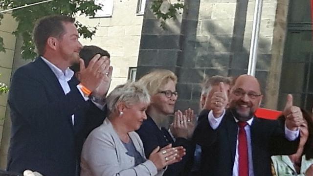 Martin Schulz in Nürnberg: Zeit für mehr Gerechtigkeit