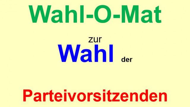 Wahl-O-Mat zur SPD-Parteivorsitzenden-Wahl