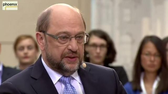 Video: Martin Schulz im Gespräch in Phoenix